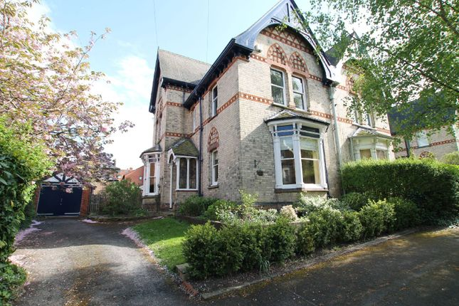 Thumbnail Semi-detached house for sale in Alexandra Road, Stoneygate, Leicester