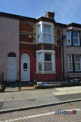Thumbnail Terraced house to rent in Burns Street, Merseyside, Liverpool