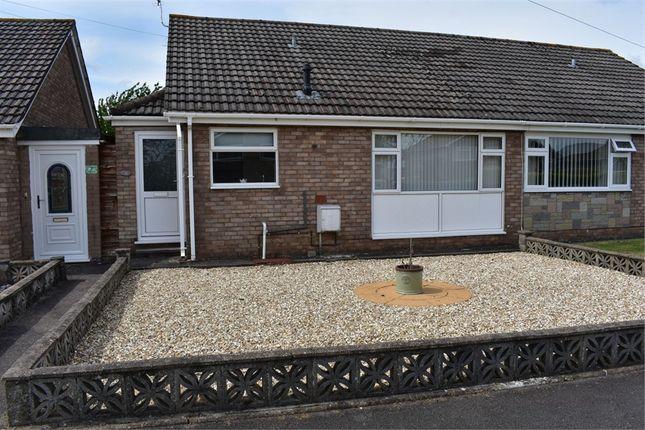 Thumbnail Semi-detached bungalow for sale in Honddu Close, Caldicot