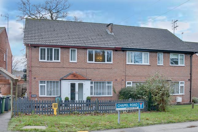 Thumbnail Maisonette for sale in Chapel Road, Astwood Bank, Redditch
