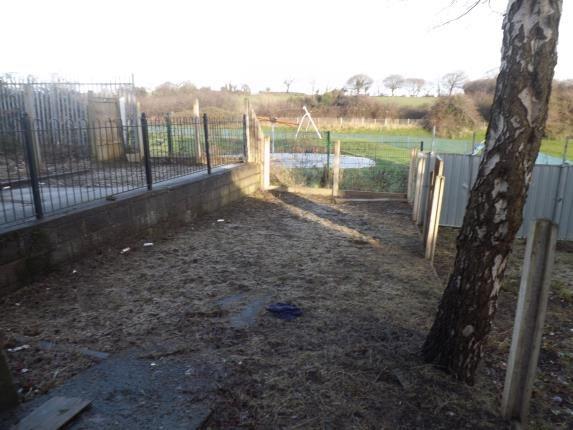 Garden of Meadowbank, Holywell, Flintshire CH8