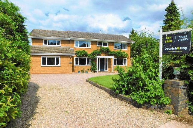 Thumbnail Detached house for sale in Park Lane, Lapley, Stafford