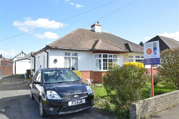 Thumbnail Semi-detached bungalow for sale in Inwood Avenue, Old Coulsdon, Coulsdon