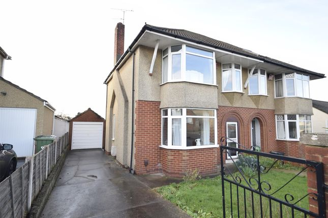 Thumbnail Semi-detached house for sale in Oakdale Road, Downend, Bristol