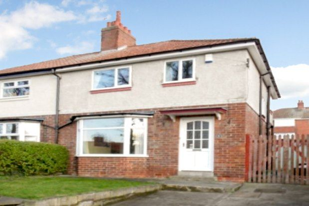 Thumbnail Semi-detached house to rent in Woodlea Avenue, York