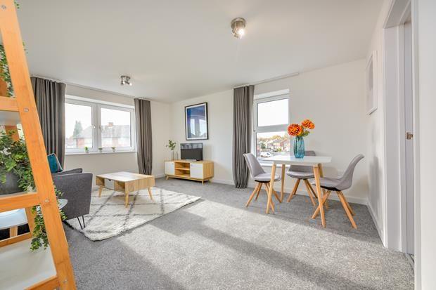 Thumbnail Flat to rent in Apartment, The Haybridge