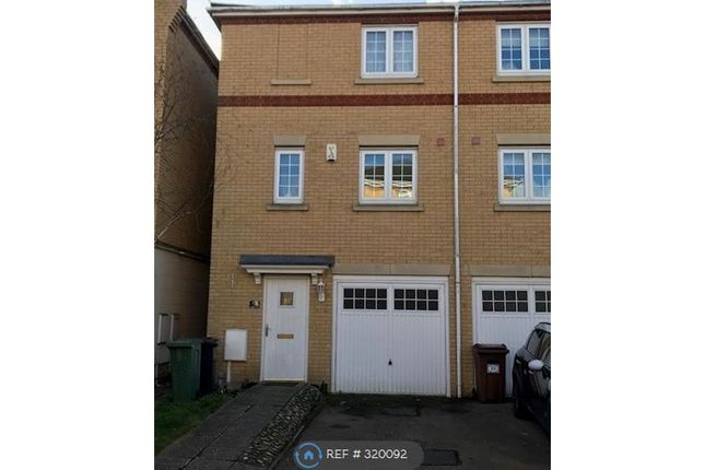Thumbnail End terrace house to rent in Barkway Drive, Orpington