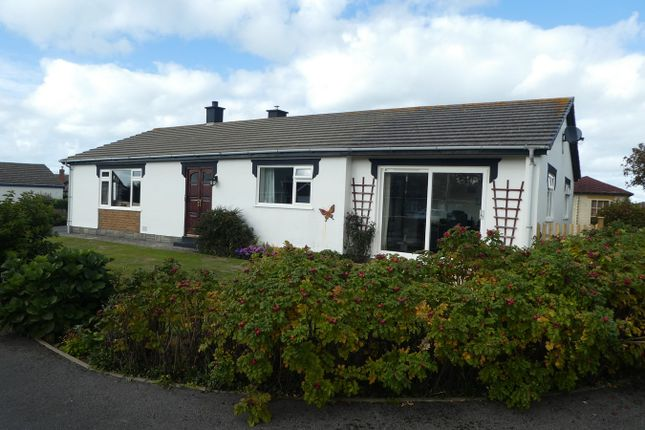 Thumbnail Detached bungalow for sale in 3 Albion Fields, Llansantffraid, Llanon