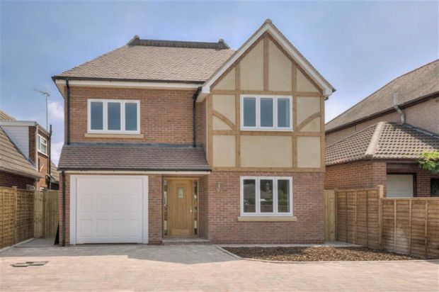 Thumbnail Detached house for sale in Cromwell Lane, Burton Green, Coventry
