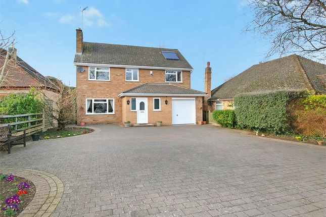 Thumbnail Detached house for sale in Sywell Road, Overstone, Northampton