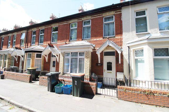 Thumbnail Terraced house for sale in Morris Street, Newport