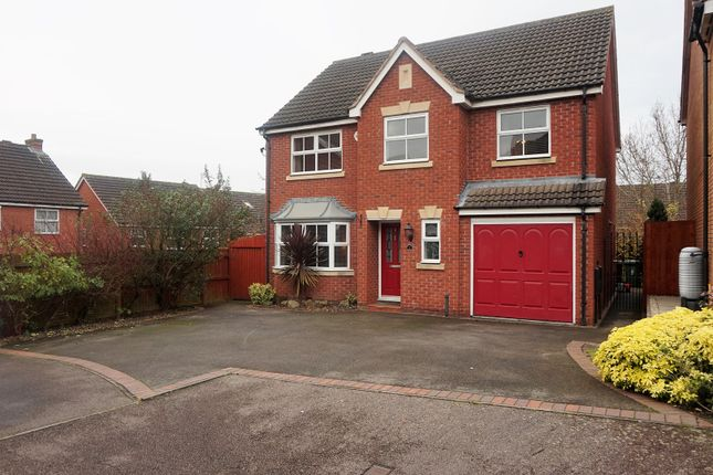 Thumbnail Detached house for sale in Harby Close, Birmingham