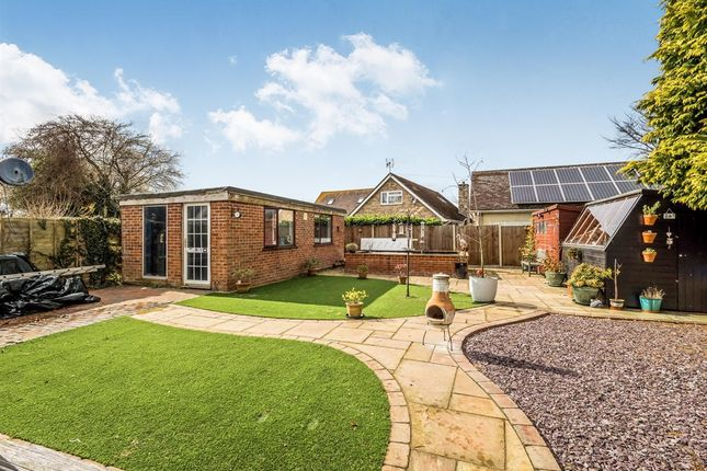 Thumbnail Detached bungalow for sale in Buckenham Road, Lingwood, Norwich