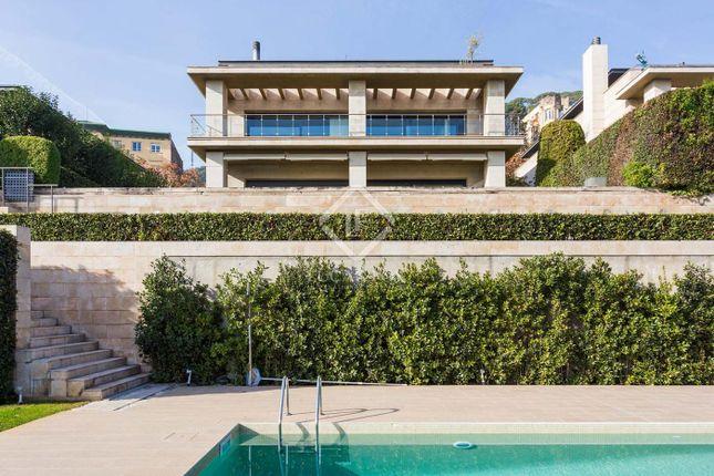 Thumbnail Villa for sale in Spain, Barcelona, Barcelona City, Zona Alta (Uptown), Sant Gervasi - Galvany, Bcn1588