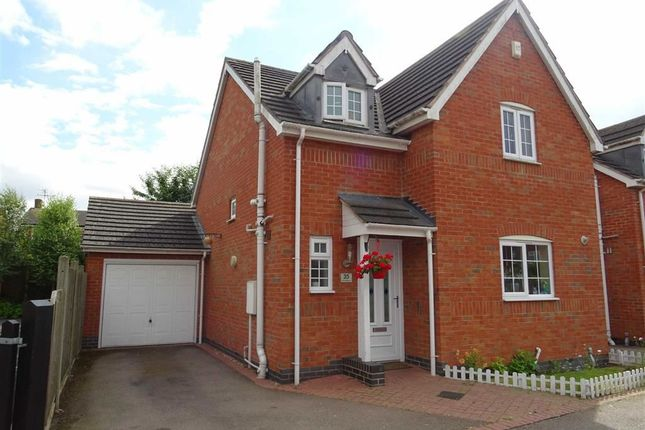 Thumbnail Detached house for sale in Leicester Road, Sapcote, Leicester