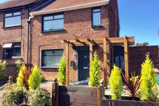Thumbnail Semi-detached house for sale in Springwell Avenue, Langley Park, Durham