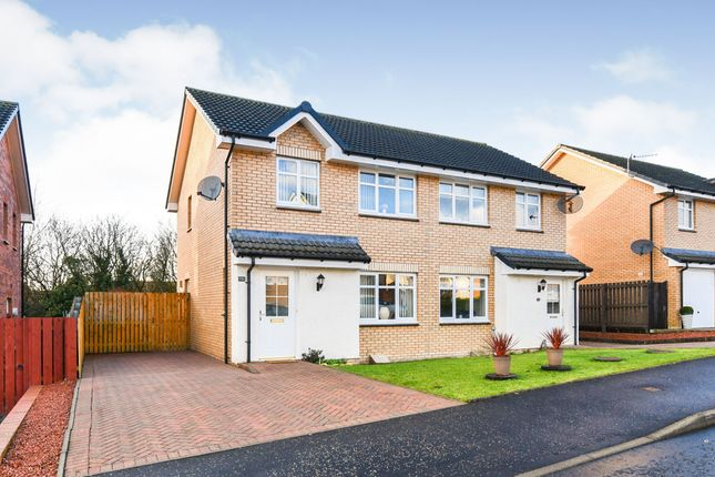 Thumbnail Semi-detached house for sale in Limekiln Wynd, Mossblown, Ayr