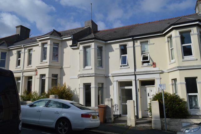 Thumbnail Flat to rent in Furzehill Road, Mutley, Plymouth