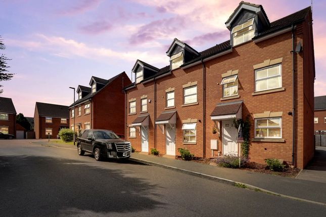 Thumbnail End terrace house for sale in Tungstone Way, Market Harborough