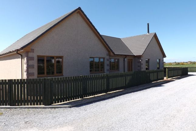 Thumbnail Detached bungalow for sale in The Thistles, Upper Dallachy, Spey Bay, Fochabers