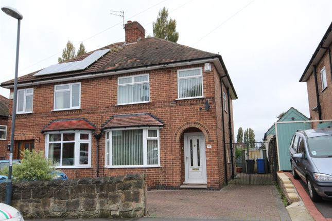 Thumbnail Semi-detached house for sale in Haydn Road, Chaddesden, Derby