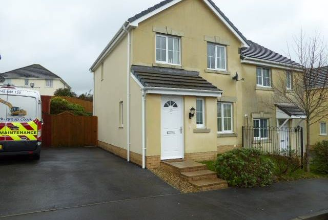 Thumbnail Semi-detached house to rent in Allt Y Gog, Carmarthen, Carmarthenshire