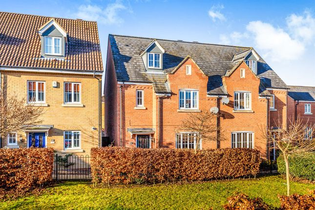 Thumbnail Semi-detached house for sale in Cooks Way, Biggleswade