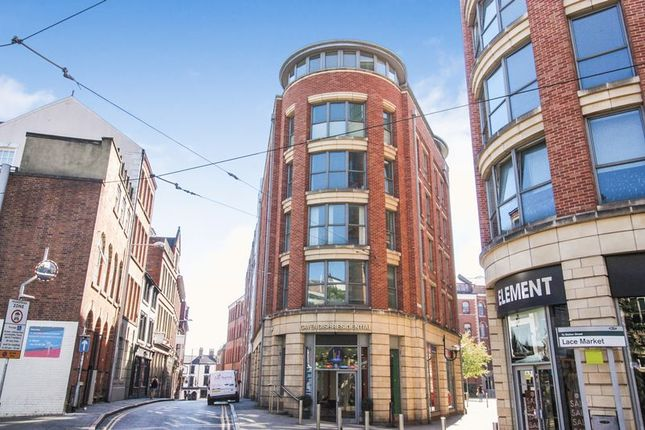 Thumbnail Flat to rent in Number One Fletcher Gate, Adams Walk, Nottingham