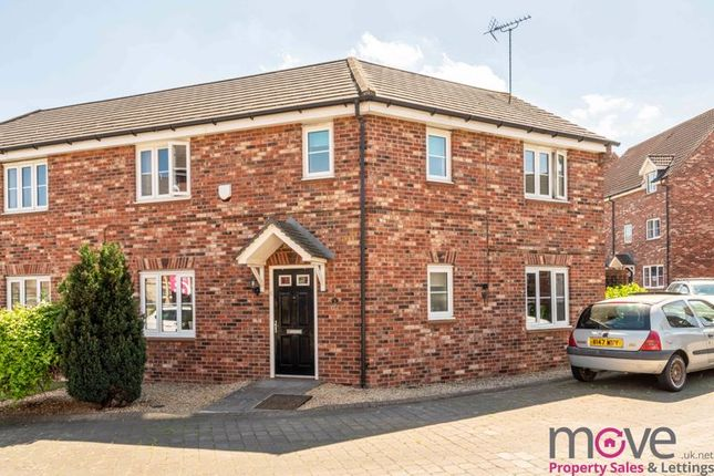Thumbnail Semi-detached house for sale in The Warren, Tuffley, Gloucester