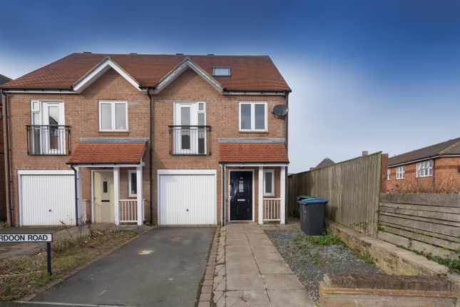 Town house for sale in Cardoon Road, Consett