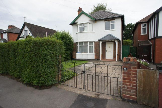 Thumbnail Detached house to rent in Chaddesden Park Road, Chaddesden, Derby