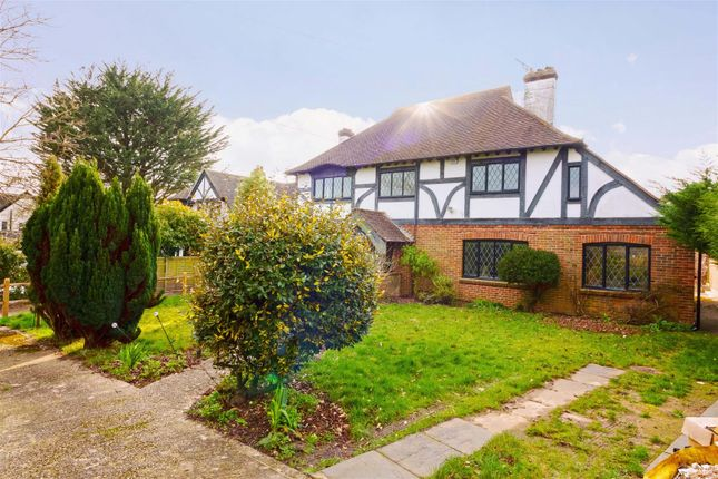 Thumbnail Detached house to rent in Mill Lane, Findon Valley, Worthing
