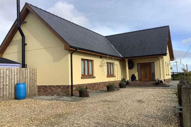 Thumbnail Detached bungalow for sale in Blaenwaun, Whitland, Carmarthenshire