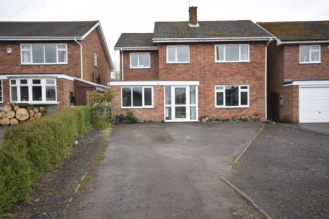 Thumbnail Detached house to rent in Windmill Close, Ashby-De-La-Zouch