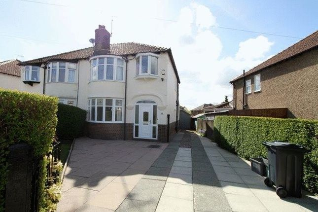 Thumbnail Semi-detached house to rent in Sandon Road, Newton, Chester