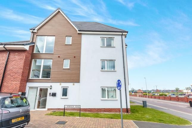 2 bed flat for sale in Robinson Road, Blackpool, Lancashire, . FY1