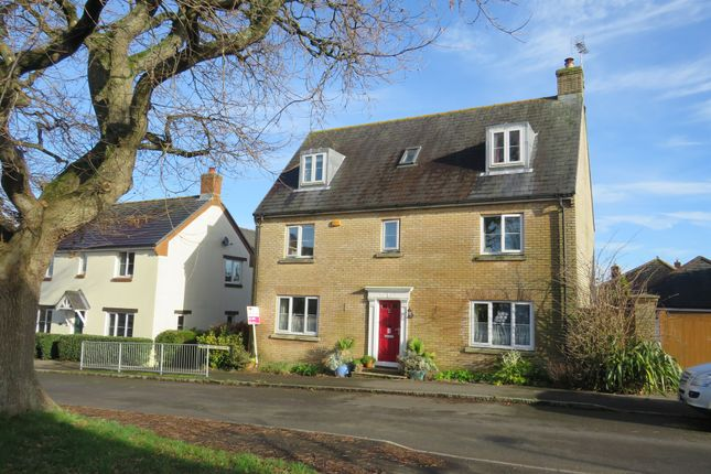 Thumbnail Detached house for sale in Brewer Walk, Crossways, Dorchester