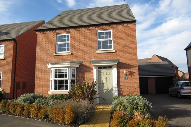 Thumbnail Detached house for sale in Wright Close, Whetstone, Leicester