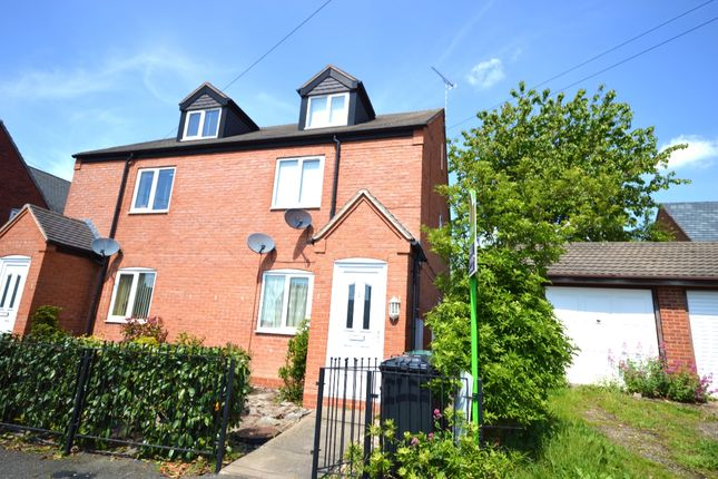 Thumbnail Flat for sale in John Street, Newhall, Swadlincote, Derbyshire
