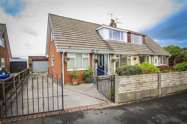Thumbnail Semi-detached bungalow for sale in Longfield Avenue, Coppull, Lancashire