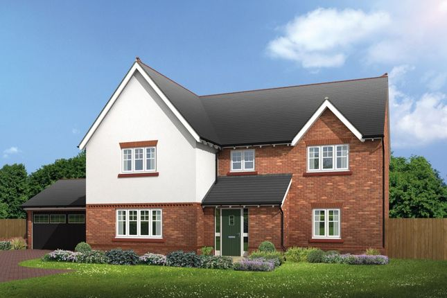 Thumbnail Detached house for sale in Halstead Common Lane, Lach Dennis, Northwich
