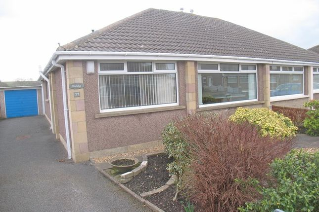Thumbnail Semi-detached bungalow to rent in Hamilton Road, Morecambe