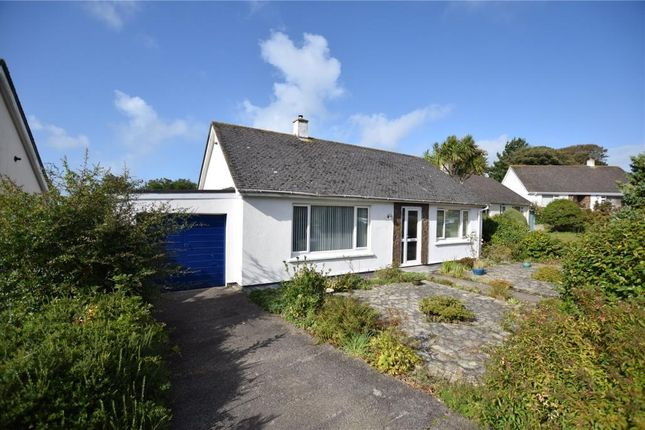 Thumbnail Detached bungalow for sale in Rosewarne Gardens, Camborne, Cornwall