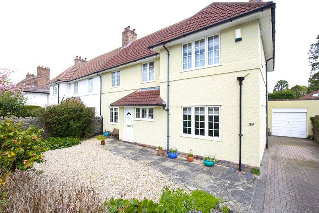 Thumbnail Semi-detached house for sale in Southmead Road, Henleaze, Bristol