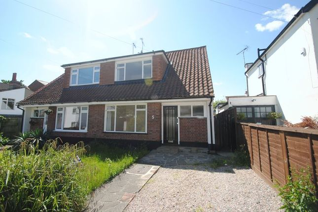 Thumbnail Semi-detached bungalow to rent in Westleigh Avenue, Leigh-On-Sea