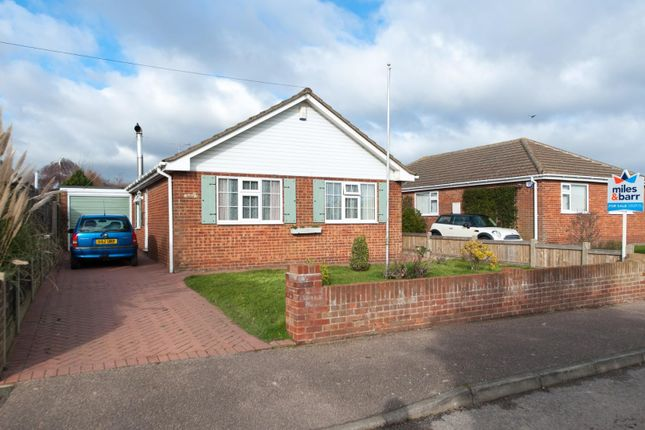 Thumbnail Detached bungalow for sale in Nelson Park Road, St. Margarets-At-Cliffe, Dover