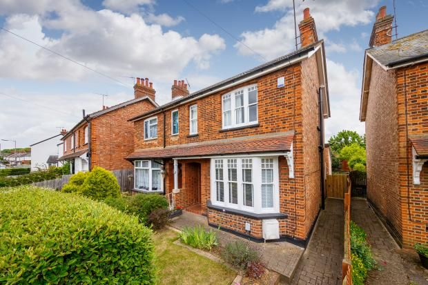 Thumbnail Semi-detached house to rent in Letchmore Road, Stevenage, Hertfordshire