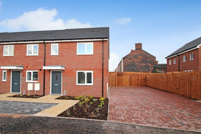 Thumbnail Town house for sale in The Lawrence, Victoria Park, Off Boothen Old Road, Stoke