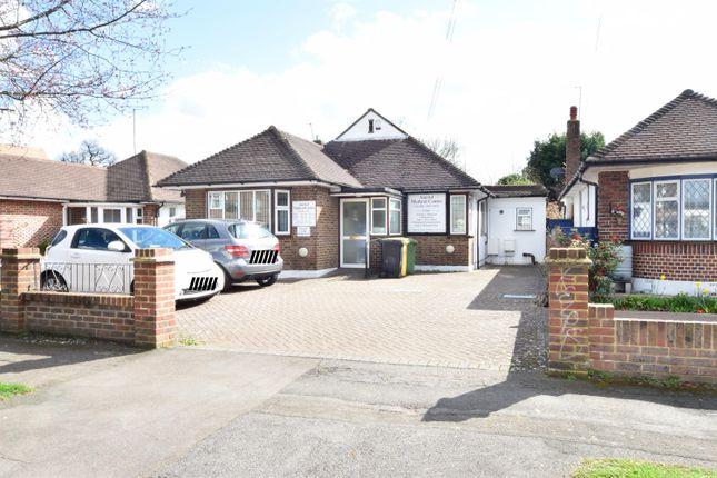 Thumbnail Detached bungalow for sale in Salisbury Rd, Worcester Park