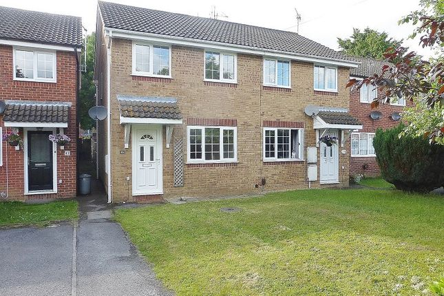Thumbnail Semi-detached house to rent in Durley Crescent, Totton, Southampton